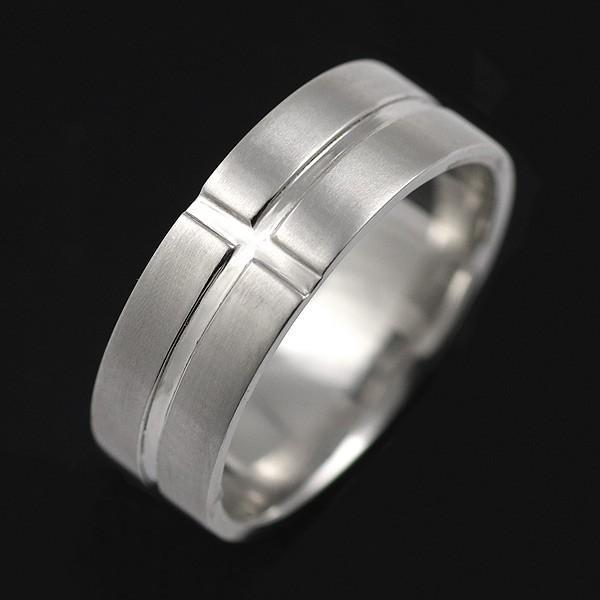 欲しいの メンズ 指輪 メンズ リング プラチナ 指輪 ファッションリング デザインリング 太め クロス セール, HEIRIEH(エイリエ) 85667f6c