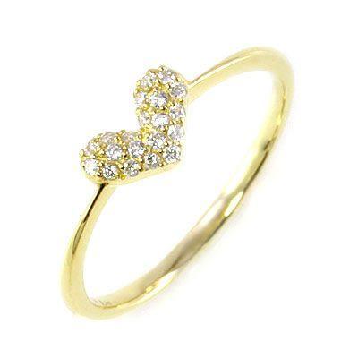 訳あり商品 ダイヤモンド指輪 K18 K18 ハート セール ダイヤモンドデザインリング ハート セール, 宝石のエンジェル:b7a15505 --- airmodconsu.dominiotemporario.com