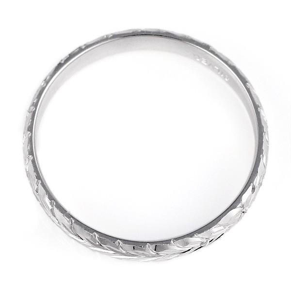 ハワイアンジュエリー メンズ 指輪 シルバー 幅約5mm マイレ ハワジュ【今だけ代引手数料無料】|suehiro|03
