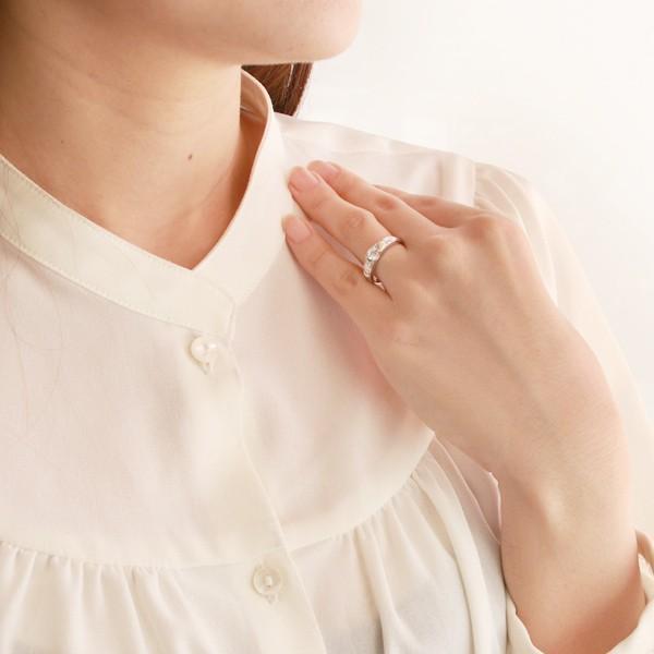 ハワイアンジュエリー 指輪 鑑別書付き プラチナ ダイヤモンド リング 一粒 大粒 ホワイトゴールド K18 18金 ストレート ハワジュ【今だけ代引手数料無料】|suehiro|05