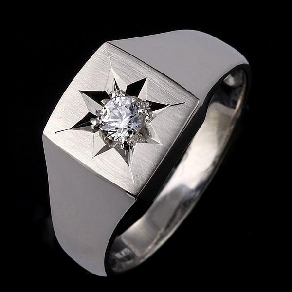 ジルコニア 指輪 ペアリング 安い 印台リング 指輪 キュービックジルコニア 一粒 シルバー925 リング ペア【今だけ代引手数料無料】 suehiro