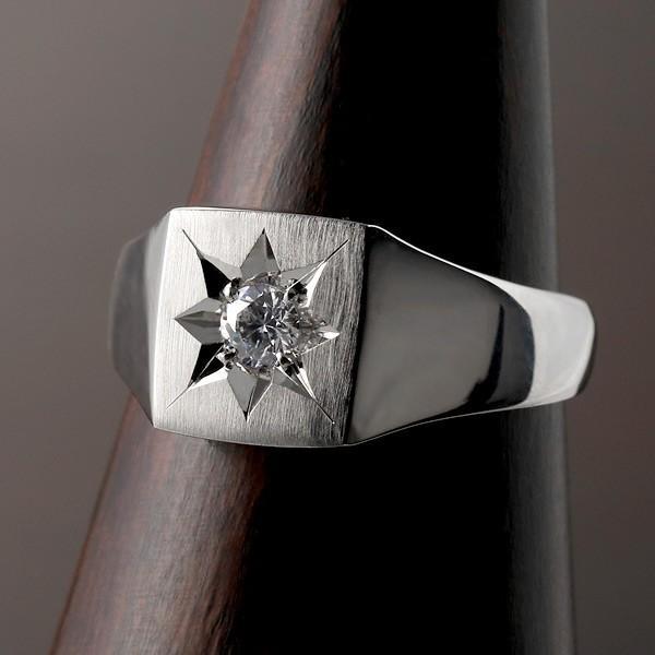 ジルコニア 指輪 ペアリング 安い 印台リング 指輪 キュービックジルコニア 一粒 シルバー925 リング ペア【今だけ代引手数料無料】 suehiro 05