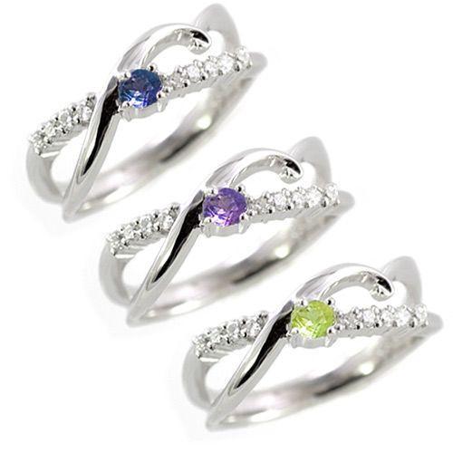 指輪 レディース 天然石 ルビー サファイア エメラルド 18金 リング 誕生石 結婚 10周年記念【今だけ代引手数料無料】|suehiro