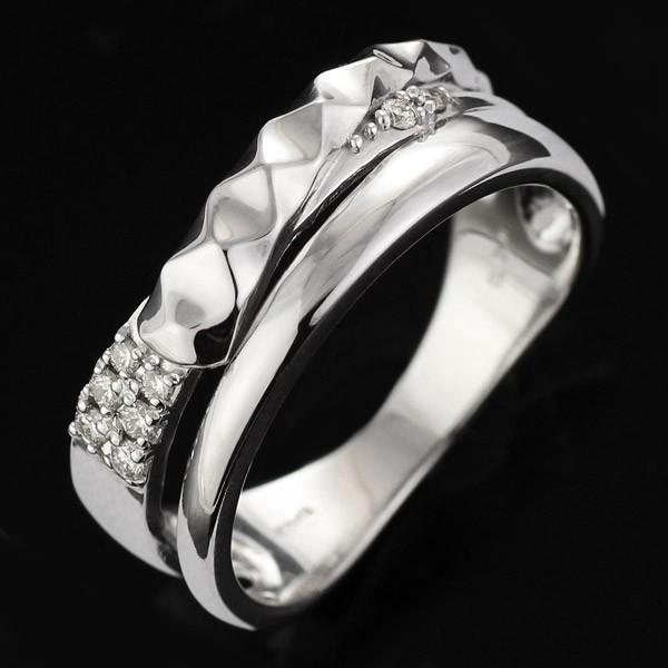 【超特価sale開催】 指輪 ペア ペアリング ホワイトゴールド ダイヤモンド セール, PortaRossa f271b4e6