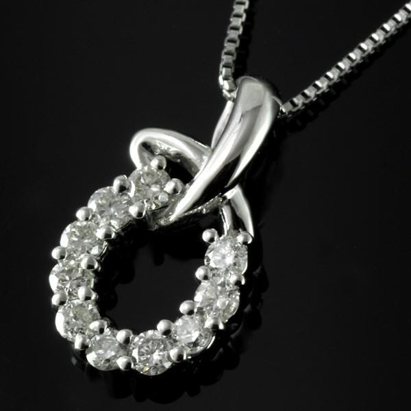 ダイヤモンド ネックレス プラチナ プレゼント 結婚記念日【今だけ代引手数料無料】|suehiro|11