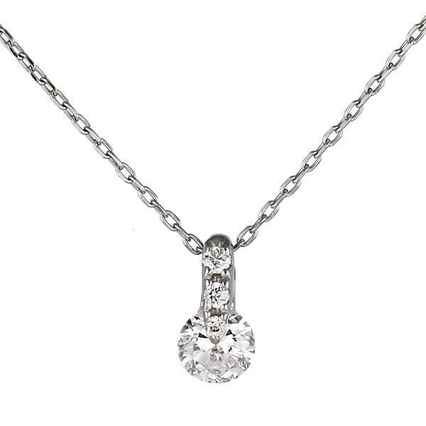 人気カラーの ネックレス レディース 18金 天然石 ネックレスホワイトゴールド ダイヤモンド 一粒 シンプル セール, Condotti 7cf3d665