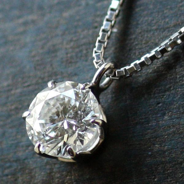 ダイヤモンド ネックレス 1カラット プラチナ 一粒【今だけ代引手数料無料】|suehiro|06