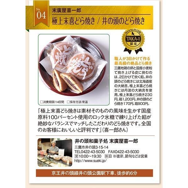 和菓子詰め合わせ3「黄金いも5個/井の頭どら焼き5個」2150円(税込)のし無料対応します sueki3154 05