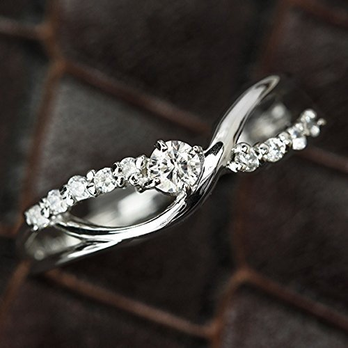 【楽天カード分割】 One&Only Jewellery 鑑別書付 0.1ct G・Hカラー Pt100 プラチナ 天然 ダイヤモンド sweet10 スイート, freshbox 204a926b