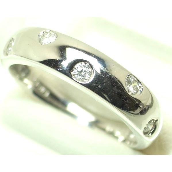 人気が高い K18WG ダイヤモンド リング 11号 0.13, BRAND UP ブランド古着の買取販売 7da4d3e1