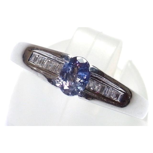 訳あり Pt900(プラチナ) アレキサンドライト 指輪 リング 12号, アクアギフト 8d570d05