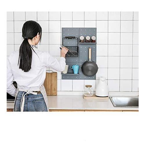 浴室ラック リビング飾り棚 キッチンラック 収納 壁掛け ランドリーラック コーナーラック パントリー シェル|suetaka-shop|06