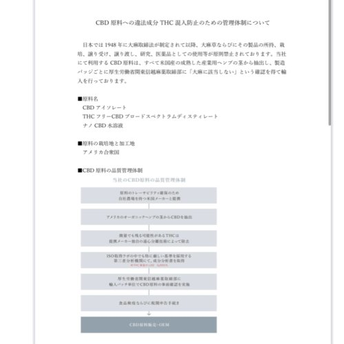 CBD『THE CARE.』タブレット(アサイー味) sugami-shop 12