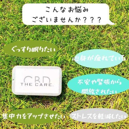 CBD『THE CARE.』タブレット(アサイー味) sugami-shop 03