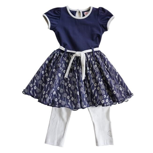 Lofff(ロフ)Flower Dress Dark Blue 20%Off|sugardays
