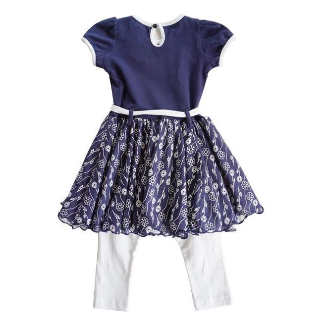 Lofff(ロフ)Flower Dress Dark Blue 20%Off|sugardays|02