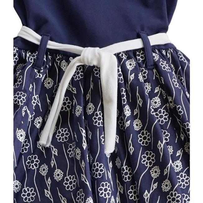 Lofff(ロフ)Flower Dress Dark Blue 20%Off|sugardays|04