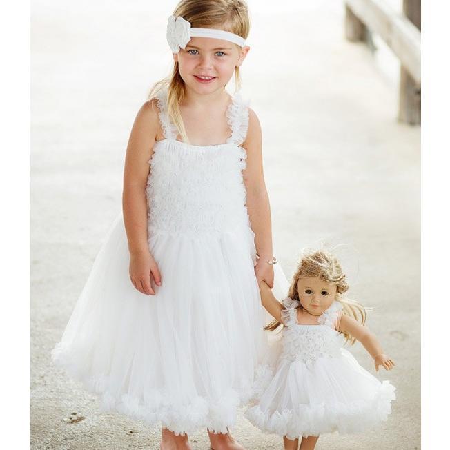Ruffle Butts【ラッフルバッツ】Princess Petti Dress Ivory|sugardays