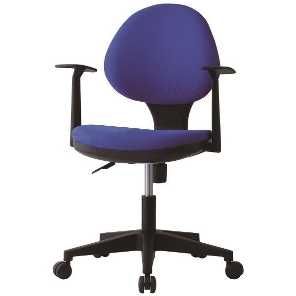 オフィスチェア T型固定肘付 事務用イス 事務用イス 回転イス 事務椅子 お客様組立 送料別 GYシリーズ GY-129N TT01