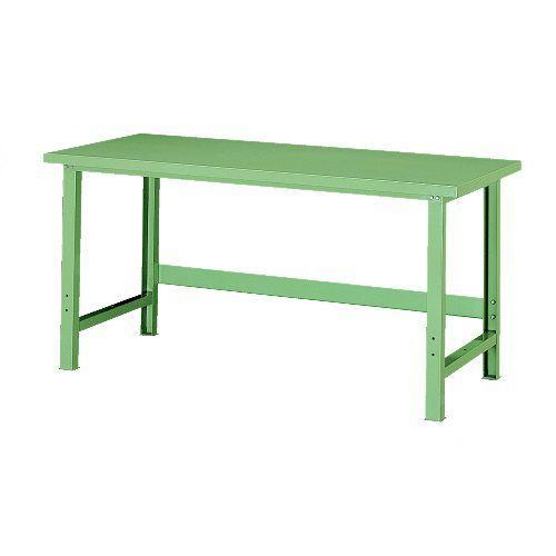 ワークベンチ ワークベンチ 作業台 作業台テーブル スチール天板 耐荷重1000kg W1500×D700×H735mm WB-10S