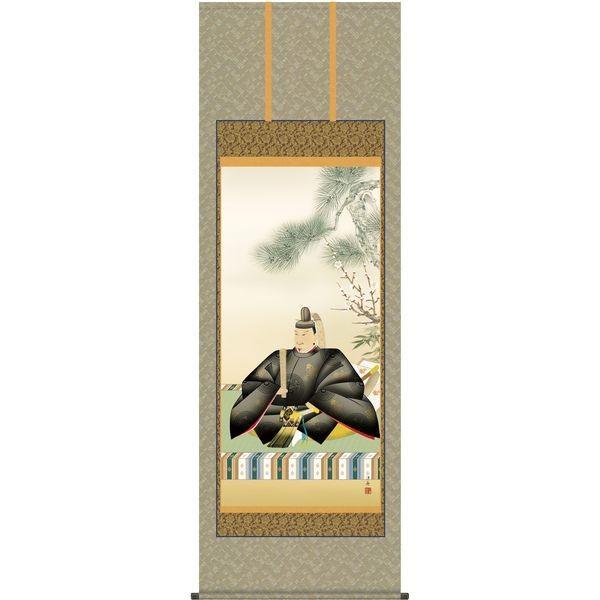 掛軸 三幸 天神第2集 天神様 尺八 正絹 T2C4-054 小野 洋舟 154791182