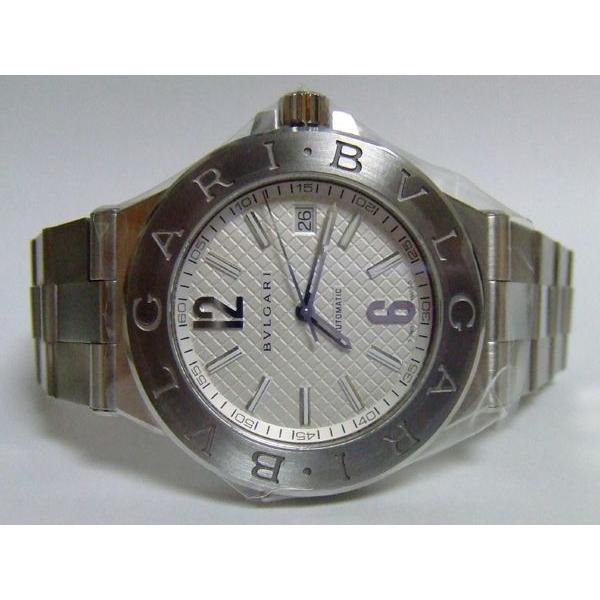 『2年保証』 BVLGARI オート ブルガリ ディアゴノ プロフェッショナル ディアゴノ クラシック オート シルバー BVLGARI DG40C6SSD, キョウトシ:1fd86436 --- airmodconsu.dominiotemporario.com