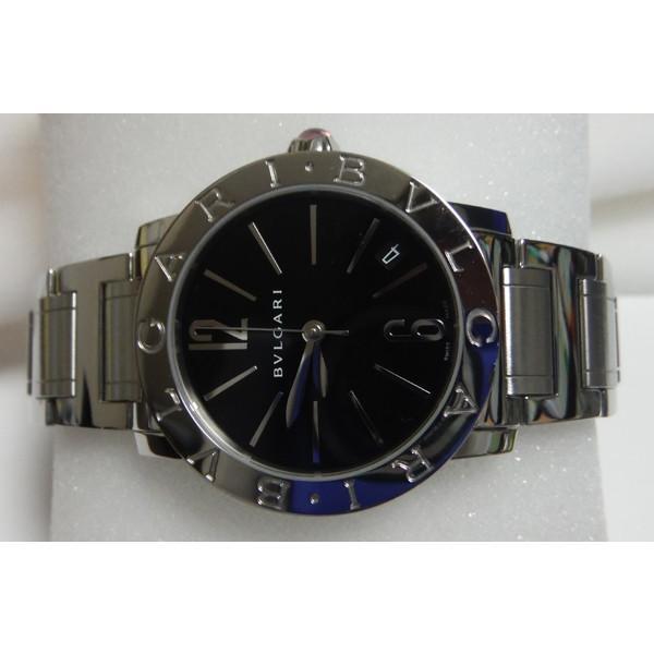 uk availability 91064 aed8c BVLGARI ブルガリブルガリ ブラックダイアル 腕時計 ボーイズ ...