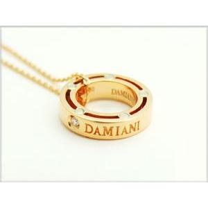 玄関先迄納品 DAMIANI ダミアーニ D-SIDE ディサイド 1Pダイヤネックレス PG/WG 20023543, Partenaire 19f903de