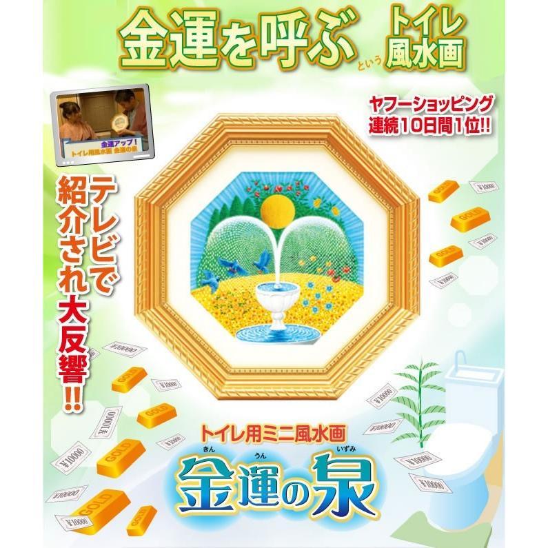 トイレ用風水画 金運の泉 :75027002:水晶院shop - 通販 - Yahoo ...