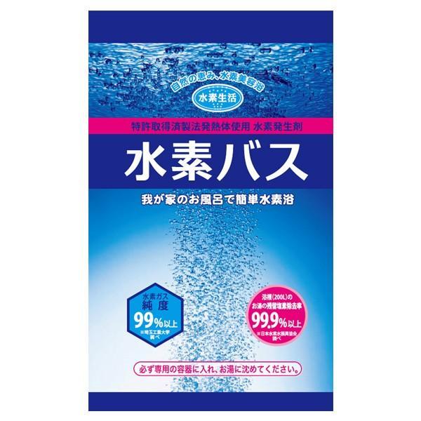 水素バス25g お試しキット2個+専用ケース 水素水 水素 風呂 水素入浴剤|suisoseikatsu|03