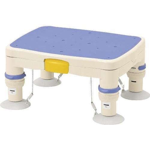 """安い割引 ブルー 標準 高さ調節付浴槽台R 安寿 """"かるぴったん"""