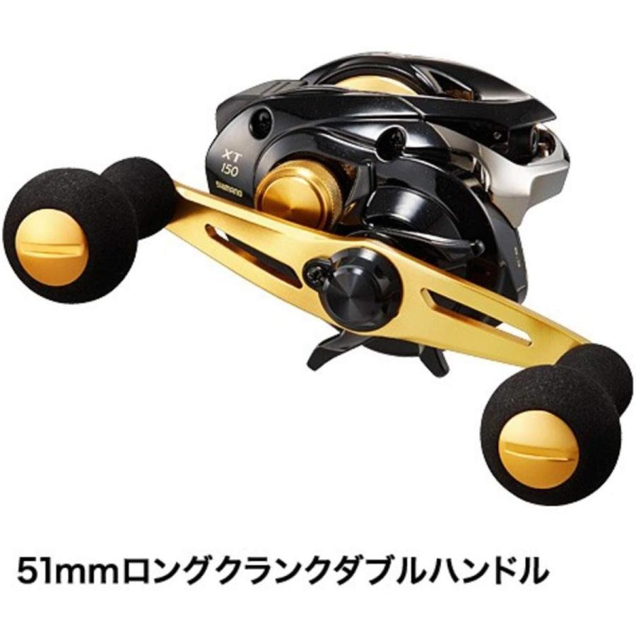 シマノ (SHIMANO) ベイトリール 17 ゲンプウXT 151 左ハンドル