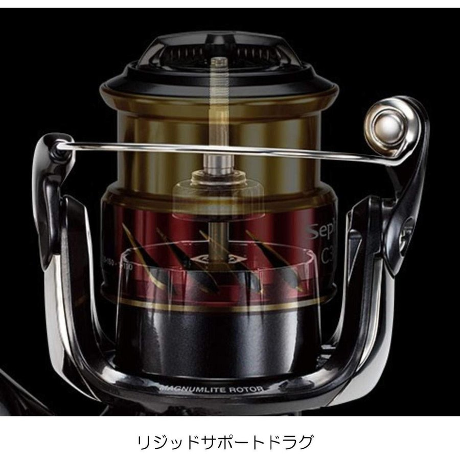 シマノ(SHIMANO) リール エギング 17 セフィアCI4+ C3000SDH HG