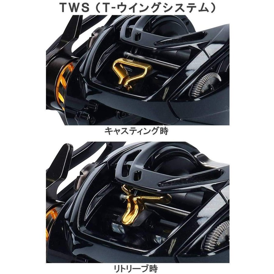 ダイワ(DAIWA) ベイトリール モアザン PE TW 1000XH-TW 2019モデル