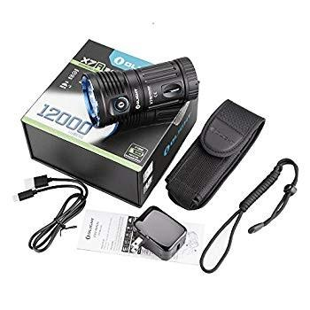 OLIGHT(オーライト) X7R MARAUDER ハンディライト 12000ルーメン Type-C充電 LED懐中電灯 XHP70-CW