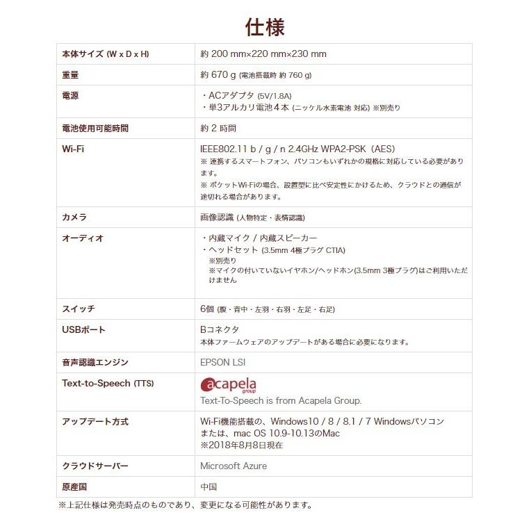 Charpy Chocolate(チャーピー) AI 英会話 ロボット セール 送料無料  sukina-mono 07