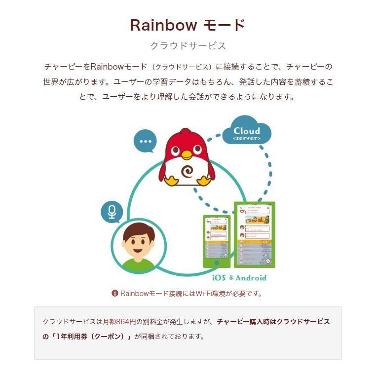 Charpy Chocolate(チャーピー) AI 英会話 ロボット セール 送料無料  sukina-mono 09