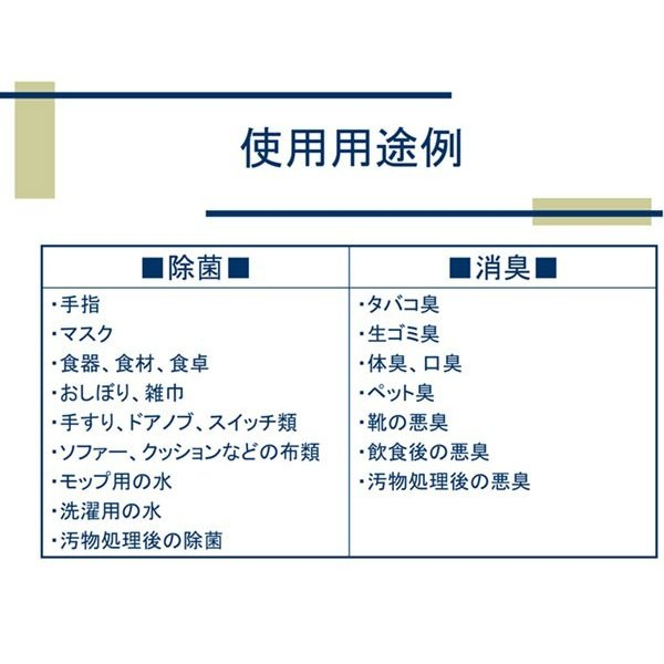次亜塩素酸水 ステリパワー 原液50ppm 20L 送料無料|sukina-mono|03