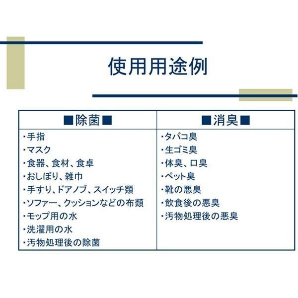 次亜塩素酸水 ステリパワー 原液300ppm 20L 送料無料|sukina-mono|03