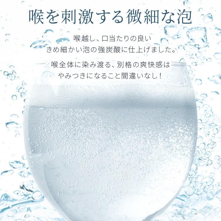 炭酸水 強炭酸 500ml 24本 天然水 水 国産 まとめ買い ペットボトル アイリスの天然水 強炭酸水500ml アイリスオーヤマ (D) 代引不可|sukusuku|06