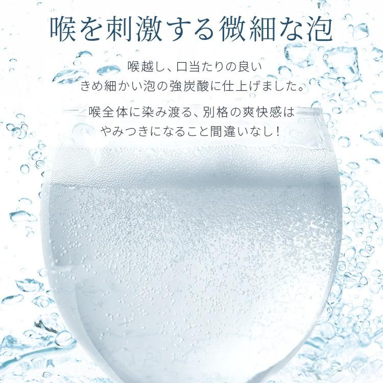 炭酸水 強炭酸 500ml 48本 天然水 水 国産 まとめ買い ペットボトル 飲料 アイリスの天然水 強炭酸水500ml アイリスオーヤマ (D) 代引不可|sukusuku|06