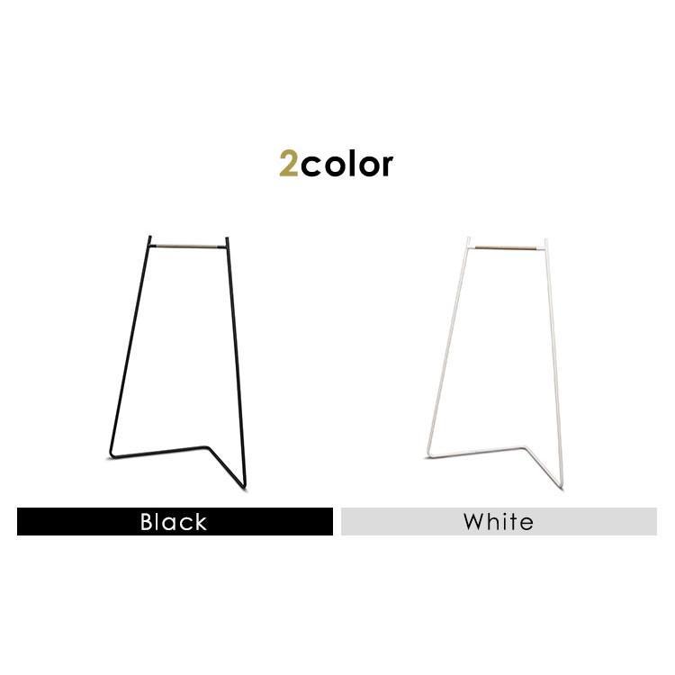 ハンガーラック おしゃれ 衣類収納 収納 スタイルハンガー コーナータイプ PI-C150 ホワイト ブラック アイリスオーヤマ|sukusuku|03