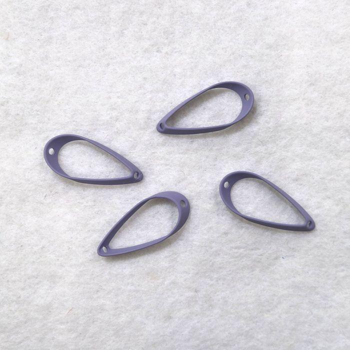 メタル・マカロンカラー10X24MMツユ型枠(4ヶ)|sumaccessory|06