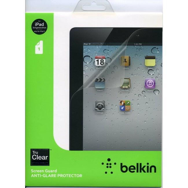 メール便送料無料 belkin 液晶保護フィルム 期間限定特価品 iPad3 iPad2用 アンチグレア 結婚祝い ノングレア ベルキン 反射防止