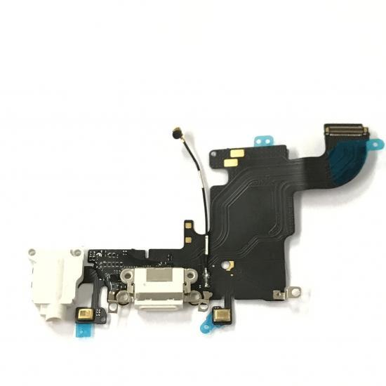 テレビで話題 尾 iPhone 6S 交換無料 ドック 初期不良注文間違い等々含む返品交換保証一切無し ライトニング lightning 自分で マイク 端子 コネクタ 充電 ケーブル イヤホン