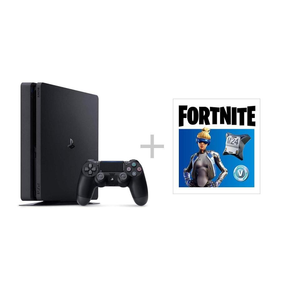 PlayStation 4 ジェット・ブラック 500GB CUH-2200AB01 本体 新品 フォートナイト ネオヴァーサバンドル フォートナイト プロダクトコード付き