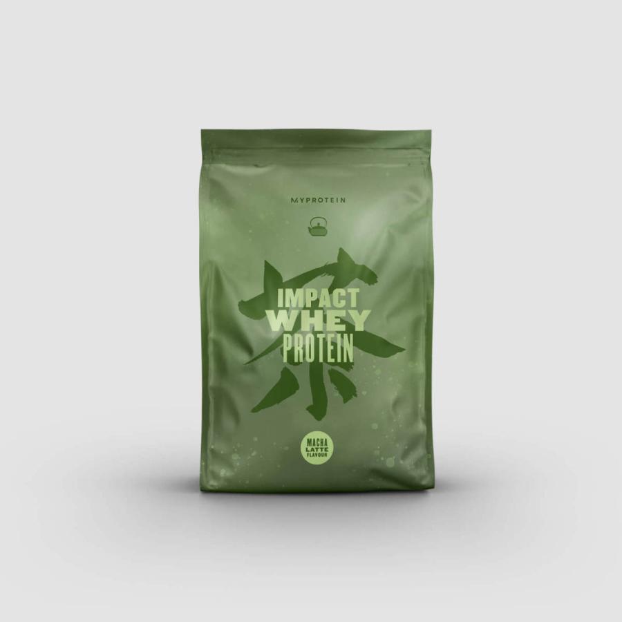 マイプロテイン 供え IMPACT 即納 ホエイプロテイン 抹茶ラテ 1kg