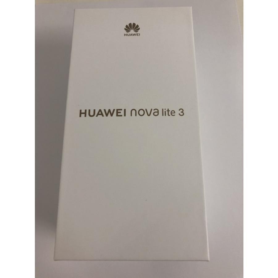 HUAWEI nova lite 3 SIMフリー スマートフォン  ミッドナイトブラック 本体 新品 国内正規品 sumahoselect 03