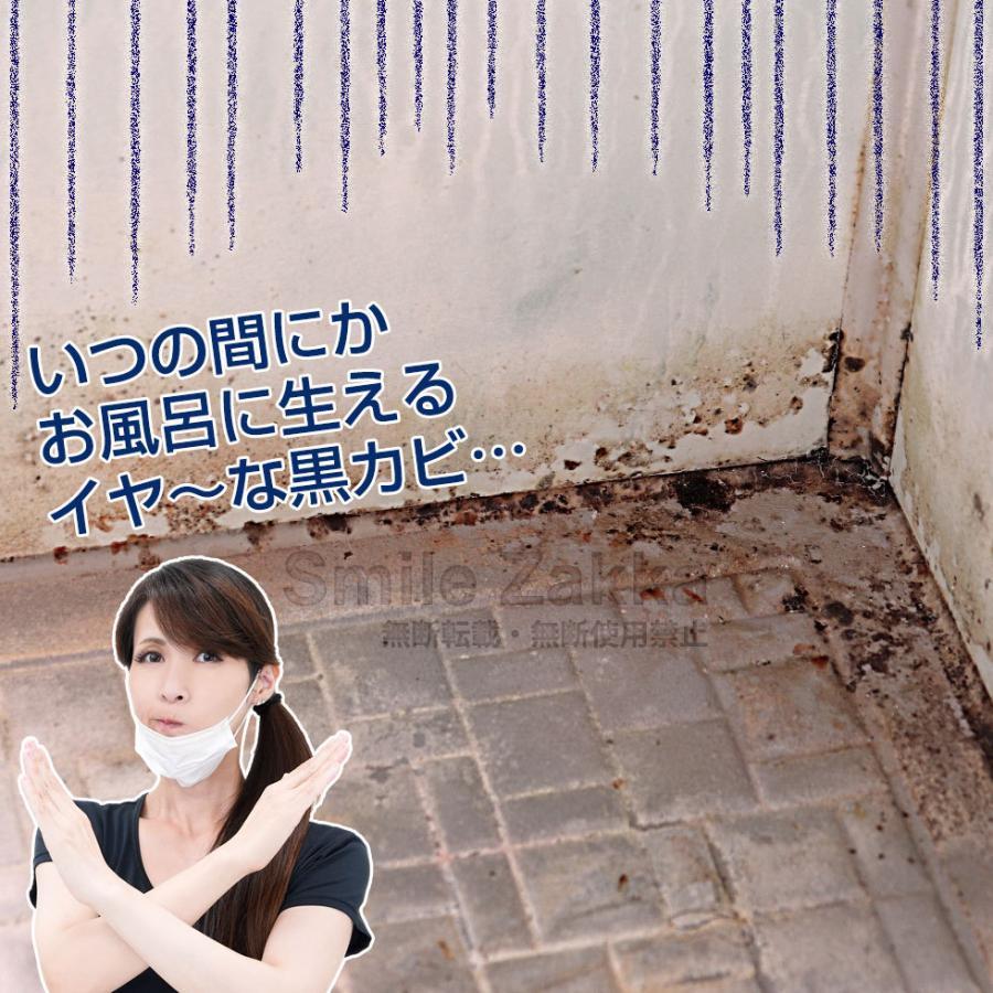 密着仕事人 お風呂の黒カビ編 お風呂掃除 カビ 黒カビ 大掃除 カビ掃除 浴室|sumairu-com|03