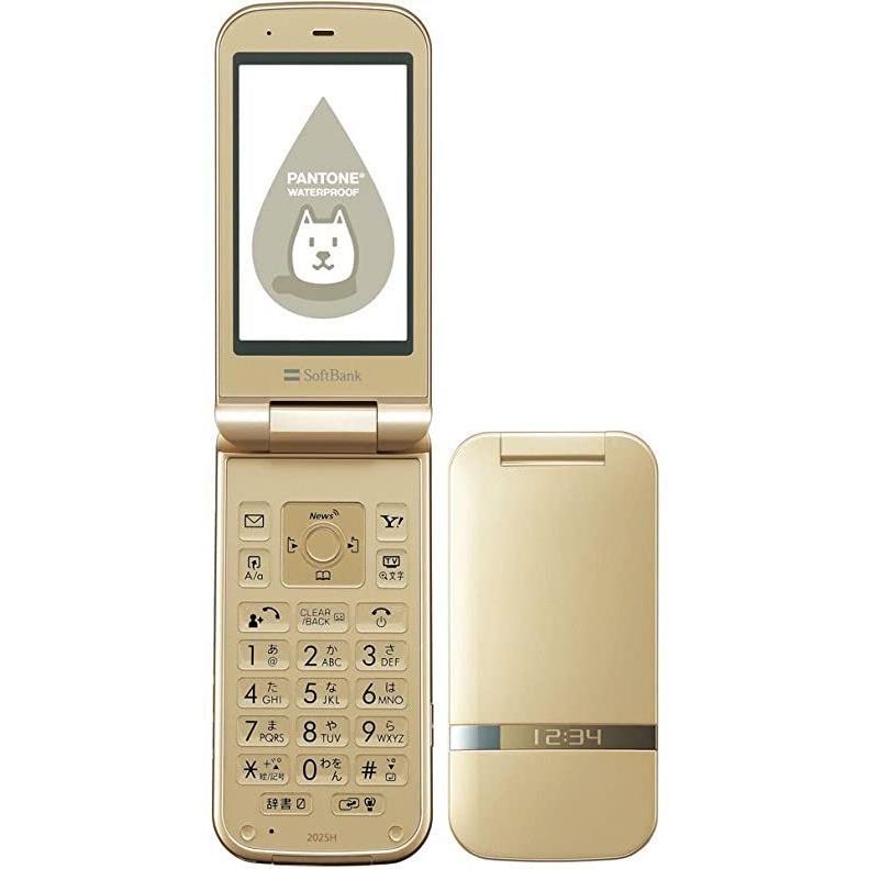 未使用 本体のみ お得クーポン発行中 202SH PANTONE ゴールド 祝日 WATERPROOF softbank 携帯電話